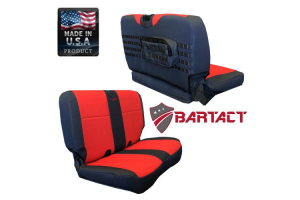 Bartact Rear Seat Cover (Part Number: TJSC0306RBB)