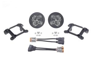 Diode Dynamics SS3 Sport LED Fog Light Kit, White - Pair - JT OverLand/Rubicon w/ Plastic Bumper