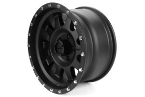 Method Race Wheels Standard Series Wheel Matte Black 17x9 ( Part Number: MR30179050512N)