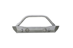 LOD Destroyer Shorty Front Bumper w/ Bull Bar Bare Steel (Part Number: )