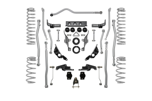 Rubicon Express 3.54.5in Extreme Duty 4-Link Long Arm Lift Kit - JL 4dr