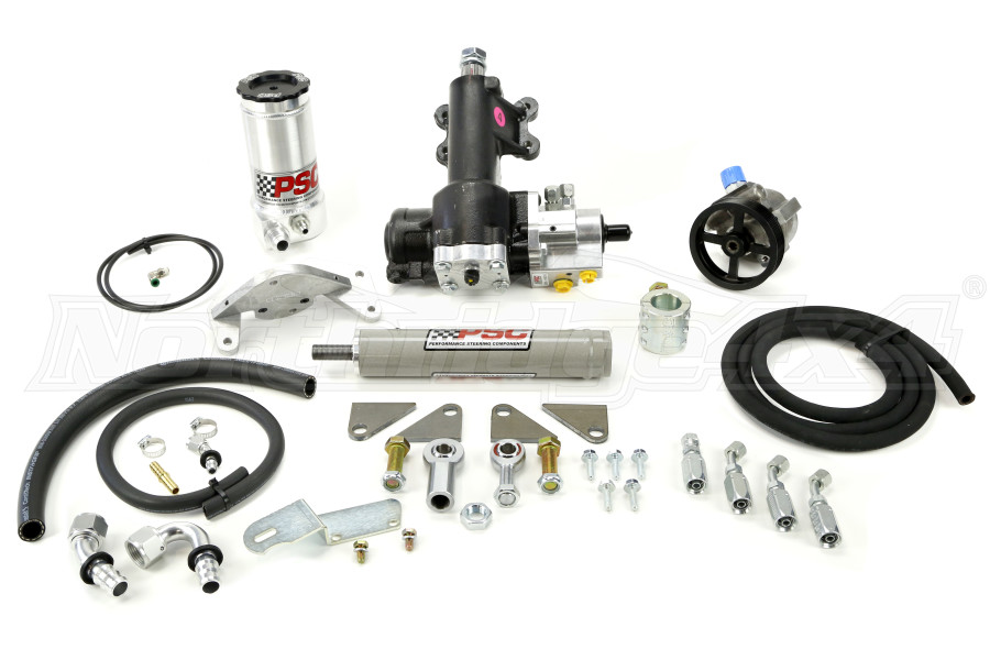 PSC JKU Cylinder Assist Unit Kit, W/ After Market Dana 44 (Part Number:SK277)