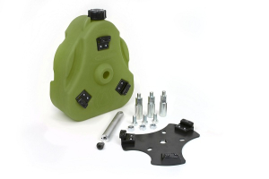 Daystar Cam Can 2 Gallon Fuel Container Kit Green ( Part Number: KJ71035GN)