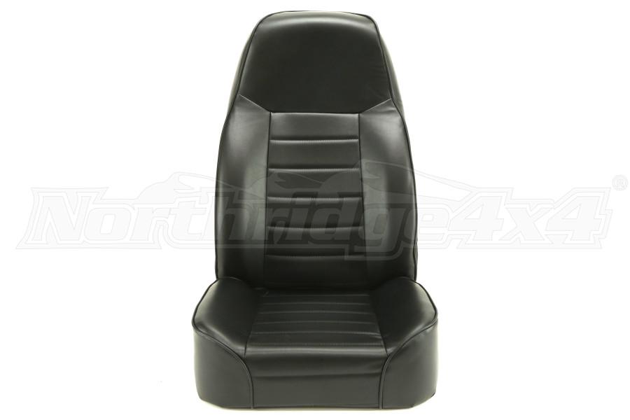 Smittybilt Standard Bucket Seat Black (Part Number:44901)