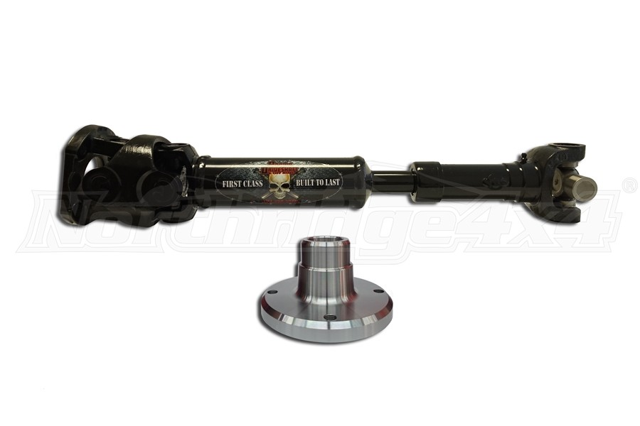 Adams Driveshaft Rear 1350 CV Driveshaft with Ultimate 60s  (Part Number:JL-1350R-S2D-D60ULT)