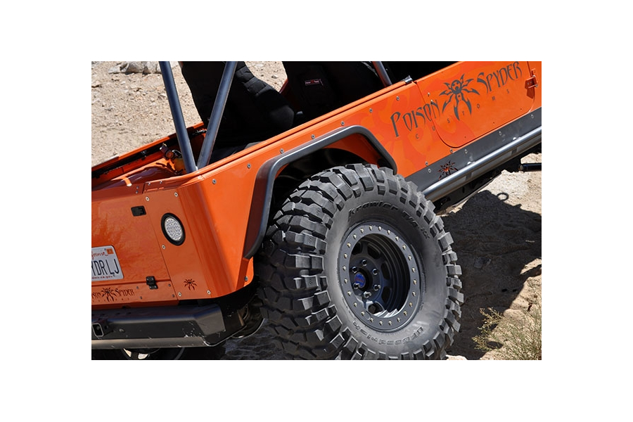 Poison Spyder Daddy Long Legs Crusher Corners w/3in Flares (Part Number:15-04-043)