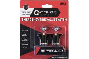 Colby Valve Emergency Valves Black 2-Pack (Part Number: )
