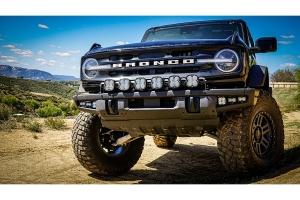 Baja Designs Clear SAE Fog Pocket Kit w/ Upfitter  - Ford Bronco