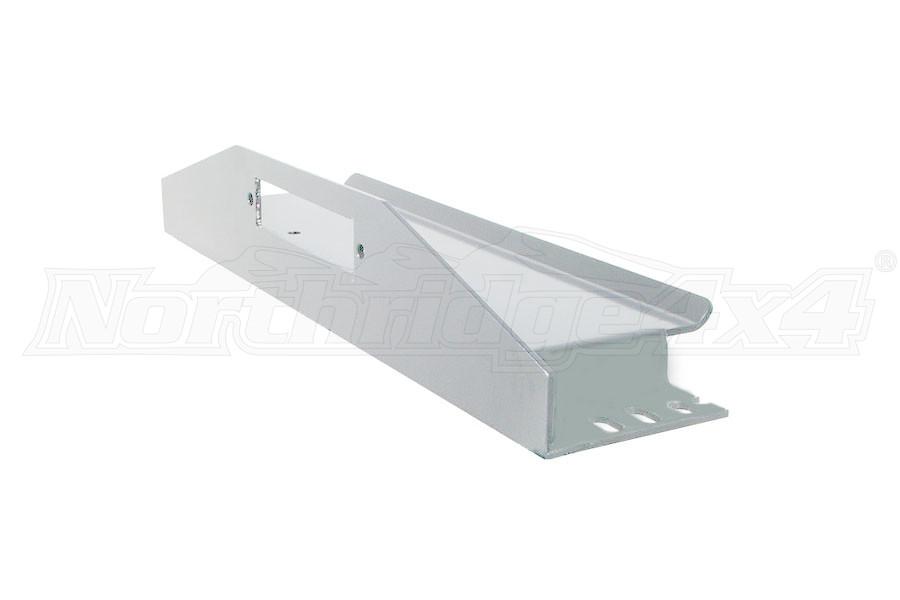 LOD Bolt-On Winch Plate Bare Steel (Part Number:JWP9650)