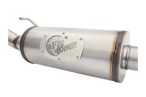 aFe Power MACH Force-Xp 2.5in Cat-Back Exhaust System w/ 18in Muffler  - JK