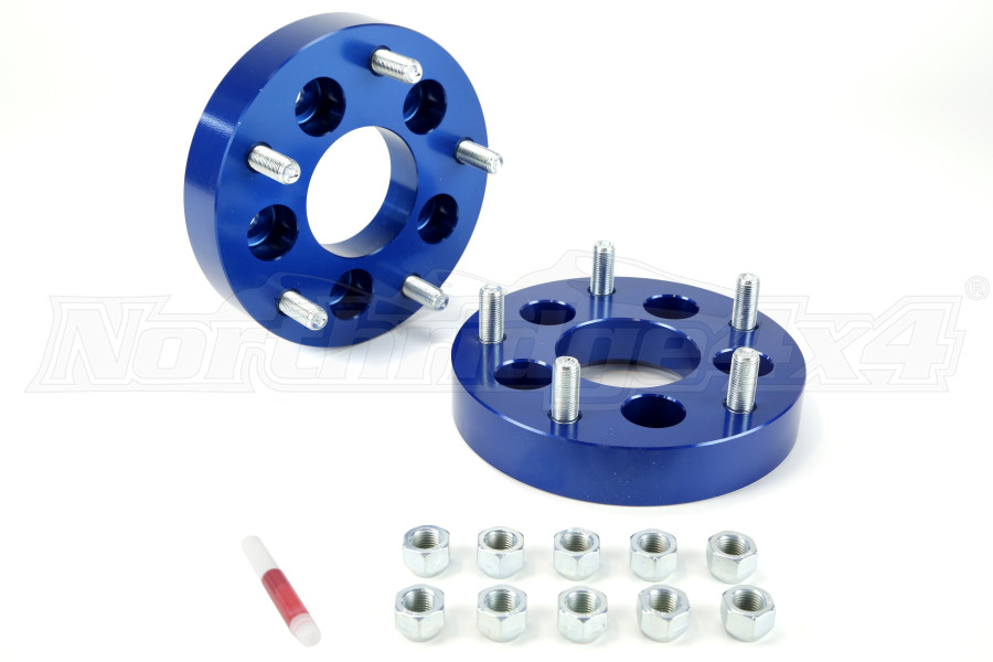 Spidertrax Wheel Adapter Kit 5x4.5 to 5x5.5 1.25in ( Part Number: WHS004)