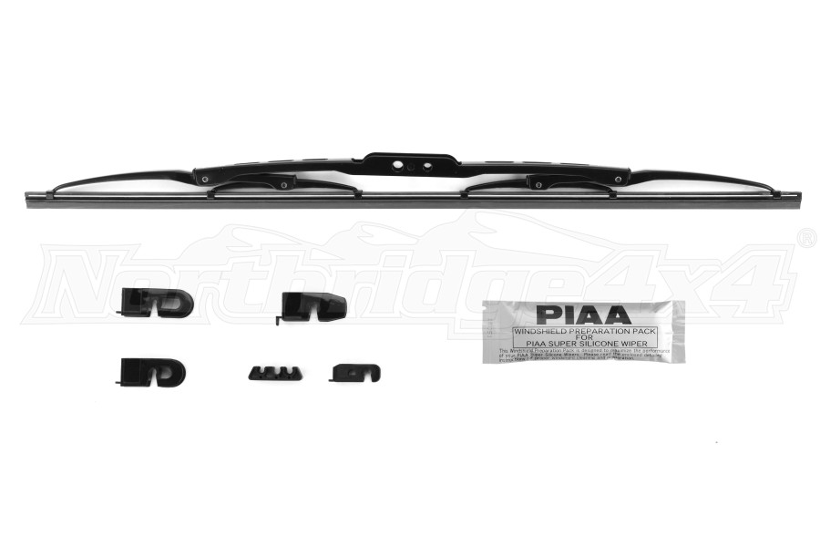 PIAA Super Silicone Wiper 20in Hook and Pin Style (Part Number:95050)