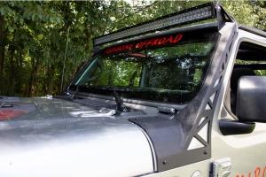 Fishbone Offroad Windshield Light Bar Bracket  - JT/JL