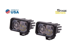 Diode Dynamics SSC2 2in Pro Standard Spot Light WBL, Pair