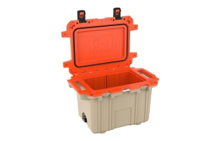 Pelican 70QT Elite Cooler- Tan Orange