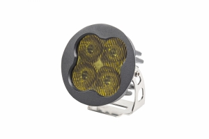 Diode Dynamics SS3 Pro, Round - Fog, Yellow