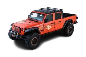 Rhino Rack Vortex Black 2 Bar Roof Rack w/ Backbone and RCL Legs   - JT