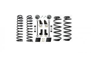 EVO Manufacturing 2.5in Enforcer Lift Kit w/Shock Extensions Stage 1 (Part Number: )