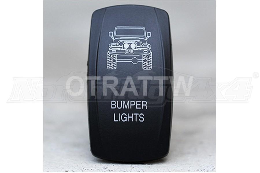 sPOD TJ Bumper Lights Rocker Switch Cover