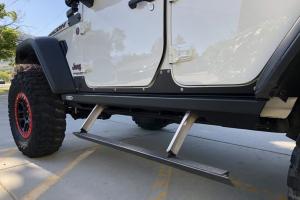 Rock-Slide Engineering Driver Side Step Slider  - JL 4dr