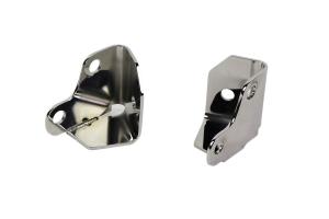 Kentrol Windshield Light Mount - Polished Silver  - JK
