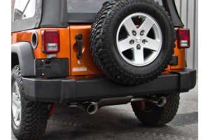 MBRP Axle Back Dual Rear Exit Aluminum (Part Number: )