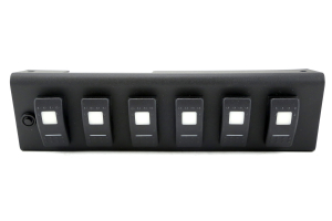 SPOD 6 SWITCH SYSTEM WITH Dual LED Lit SWITCHES Amber - JK 2009+