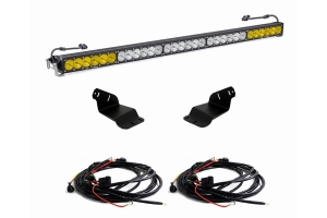 Baja Designs 50in Onx6+ Series Dual Control Roof Light Bar Kit  - Ford Bronco