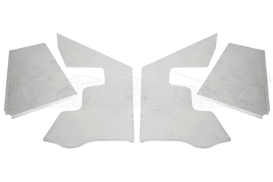 Poison Spyder Defender XC Solid Inner Fender Kit - LJ/TJ