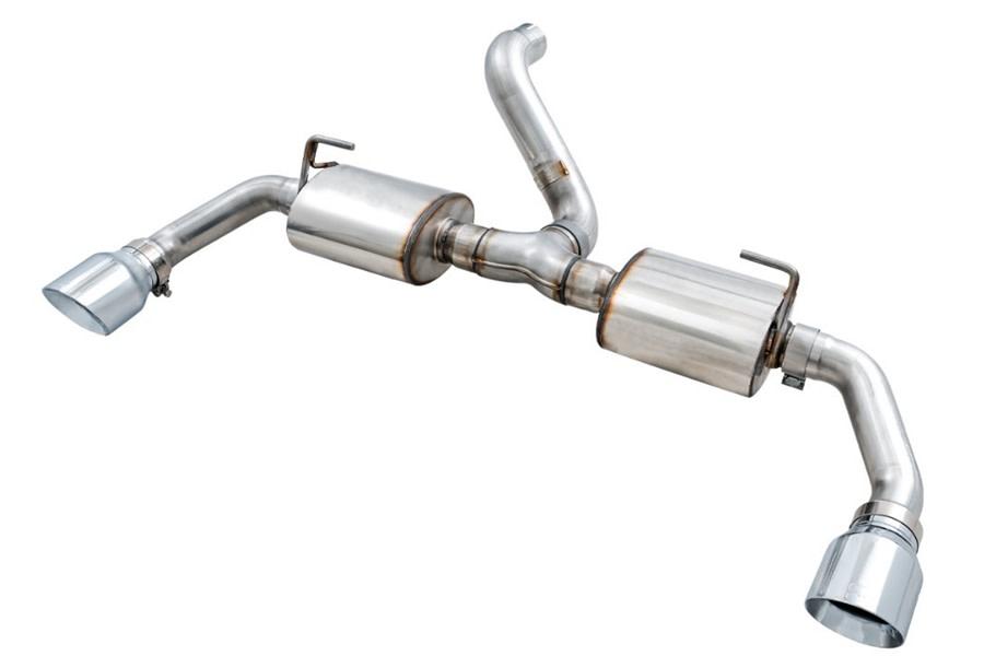 AWE Tread Edition Axle-Back Dual Exhaust w/ Chrome Tips - JL 3.6L/2.0L