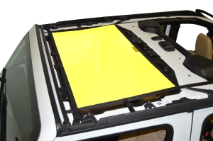 Dirty Dog 4x4 Sun Screen Front - Yellow - JL