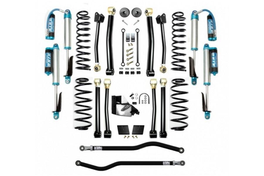 Evo Manufacturing 4.5in Enforcer Stage 4 Plus Lift Kit w/ Comp Adjuster Shocks - JL 4Dr