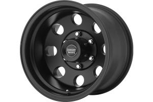 American Racing AR172 Series Baja Wheel, Satin Black 15x8 5x5 - JT/JL/JK