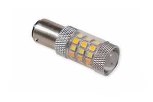 Diode Dynamics 1157 HP24 Dual-Color LED Bulb - Cool White/Amber, Single