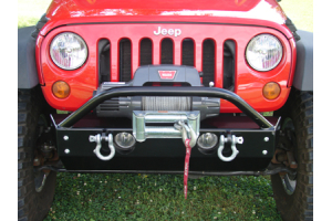 Rock Hard 4x4 Patriot Series Stubby Front Bumper (Part Number: )