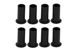 Kentrol Door Hinge Liners - Textured Black  - JK 4Dr