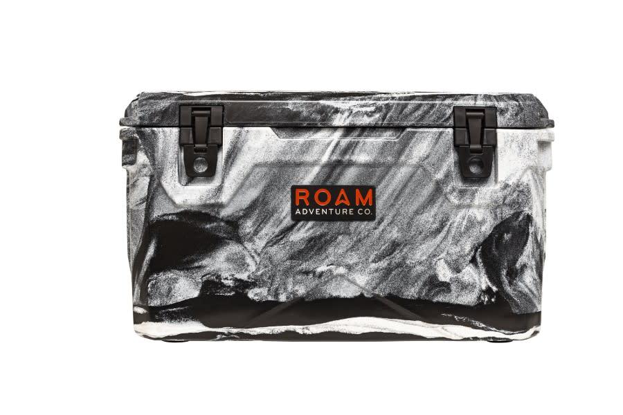 Roam Rugged Cooler 65qt  - White-Black Marble