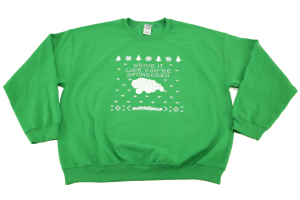 Northridge4x4 Ugly Green Christmas Sweater  ( Part Number: SWEATER2014-G)