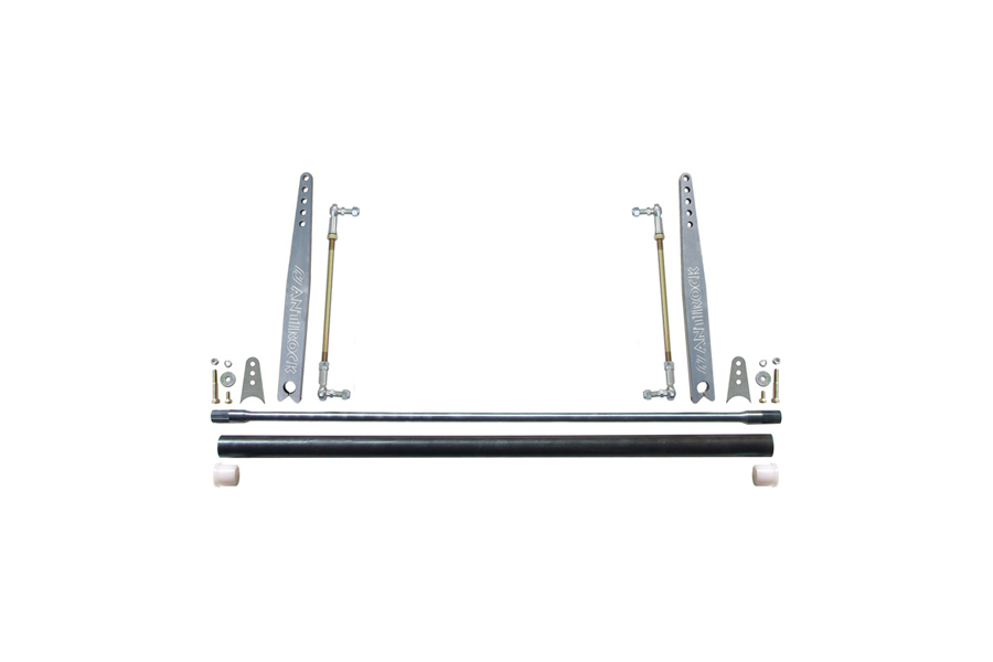 Currie Enterprises Universal AnitRock 45in Sway Bar Kit w/18in Aluminum Arms (Part Number:CE-9902A-18)
