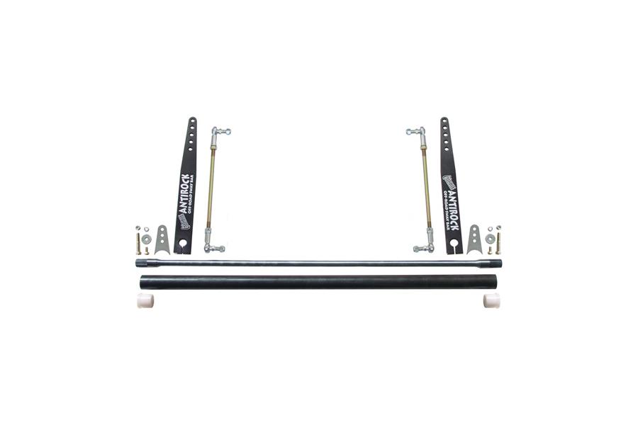 RockJock Universal AntiRock Sway Bar Kit w/ 20in Bent Steel Arms