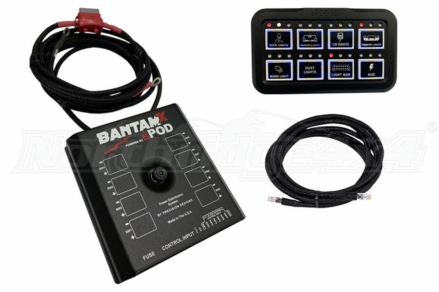 SPod BantamX HD w/84in Battery Cables