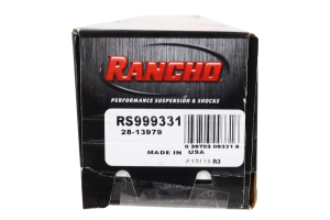 Rancho Performance RS9000XL Series Shock Front 4in Lift (Part Number: )