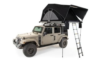 FreeSpirit Recreation High Country Series Premium 80in Roof Top Tent - Black