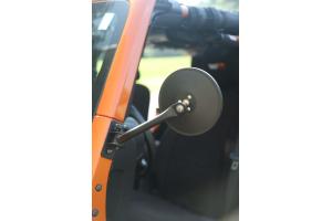 Rugged Ridge Quick Release Mirror Kit, Textured Black (Part Number: )