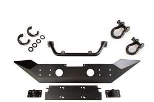 Rugged Ridge Spartan Bumper w/D-Rings and Isolator Package  - JT/JL - HCE w/ Overrider