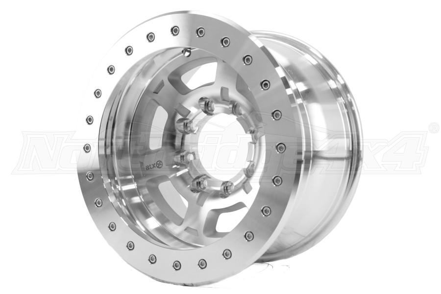 ATX Wheels AX757 Chamber Pro II Machined 17x9 8x6.5 (Part Number:AX75779080524NF)