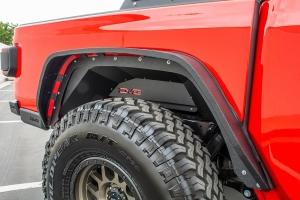 DV8 Offroad Rear Inner Fenders - Black - JT