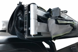 Overland Vehicle Systems Nomadic 270-Degree Awning, Dark Gray w/Black Transit Cover, Passenger Side