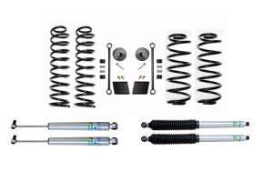 Evo Manufacturing 2.5in Enforcer Stage 1 Lift Kit w/ Bilstein Shocks - JL