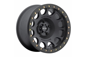 Method Race Wheels 105 Beadlock Wheel Matte Black 17x9 5x5  - JT/JL/JK